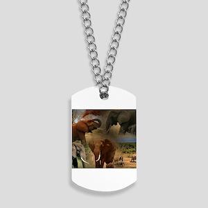 Elephant Dog Tags