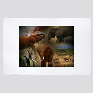 Elephant 4' x 6' Rug