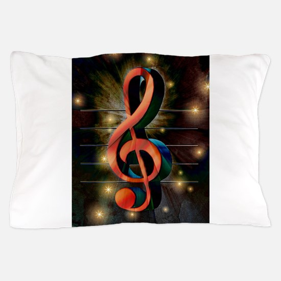 Clef Pillow Case