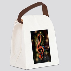 Clef Canvas Lunch Bag