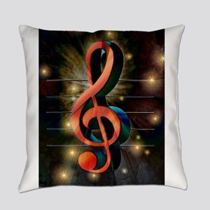 Clef Everyday Pillow