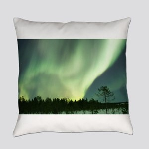 Northern Lights Everyday Pillow