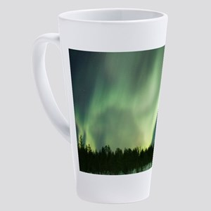 Northern Lights 17 oz Latte Mug