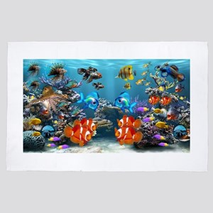 Underwater 4' x 6' Rug