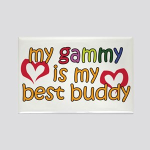 Gammy is My Best Buddy Rectangle Magnet