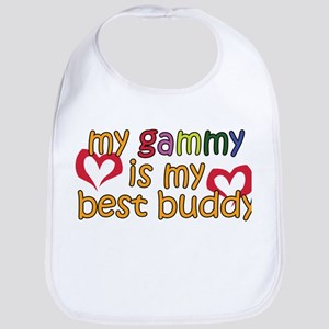 Gammy is My Best Buddy Bib