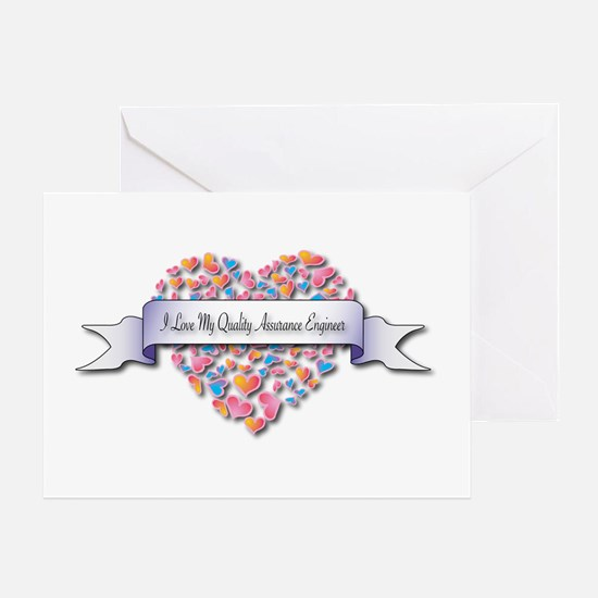 Love My Quality Assurance Engineer Greeting Card