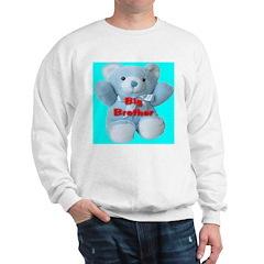 Big Brother Blue Teddy Bear Sweatshirt