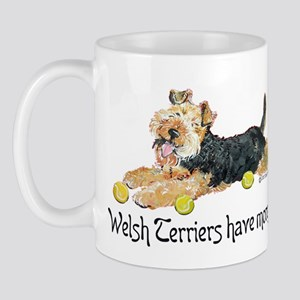 Welsh Terriers Fun Dogs Mug