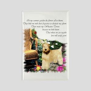 Wheaten Terrier Art Rectangle Magnet (10 pack)