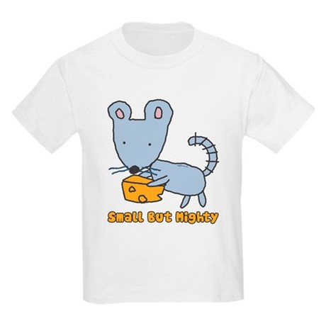 Small But Mighty Mouse Kids Light T-Shirt
