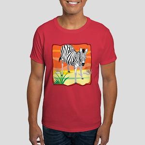 African Zebra Dark T-Shirt
