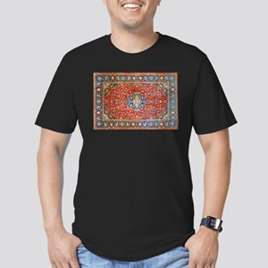 Red Blue Antique Persian Rug T-Shirt