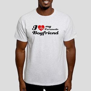 I love my Paramedic Boyfriend White T-Shirt