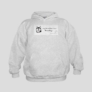 HuskyBlkBrother.jpg Sweatshirt