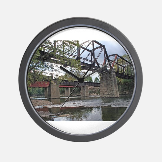 Letchworth Bridge Wall Clock