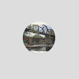 Letchworth Bridge Mini Button