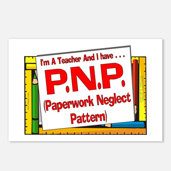 PNP! (Red) Postcards (Package of 8)