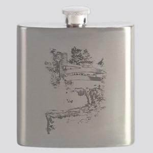 falling water Flask