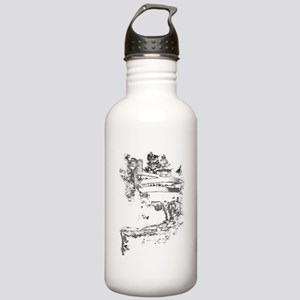falling water Water Bottle