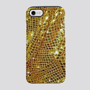 Gold Sparkling Sequin Glitte iPhone 8/7 Tough Case
