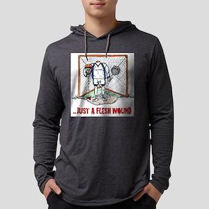 Lacrosse Goalie Fleshwound Long Sleeve T-Shirt