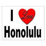 I Love Honolulu Small Poster