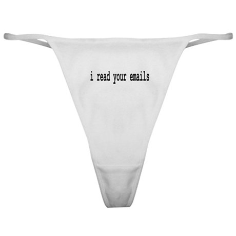 email Classic Thong