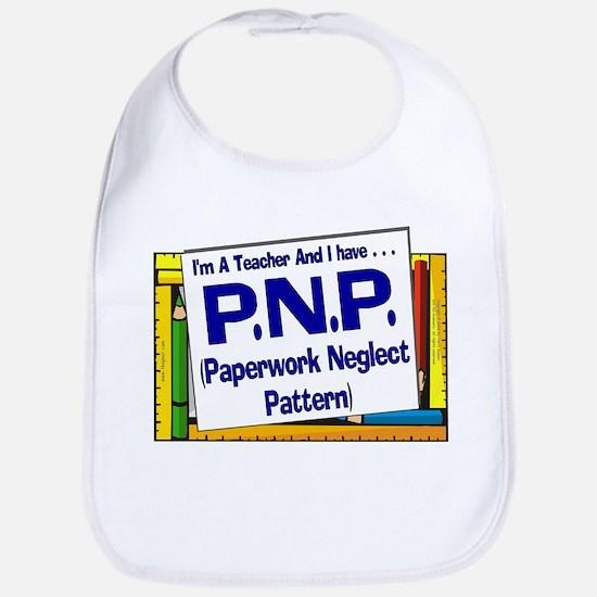 PNP! (Blu) Bib
