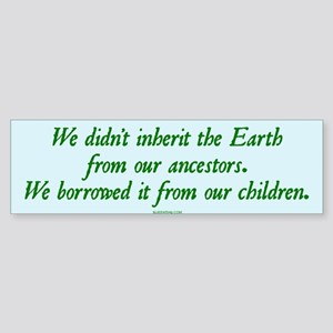 Save the Earth Bumper Sticker
