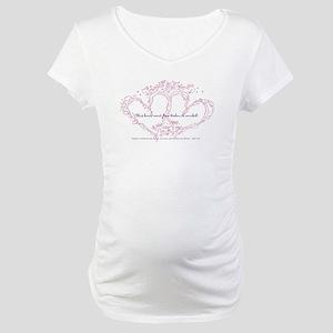 heartworkslogo2 Maternity T-Shirt