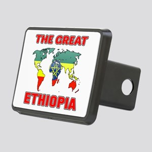 The Great Ethiopia Designs Rectangular Hitch Cover