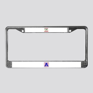The Great Ethiopia Designs License Plate Frame