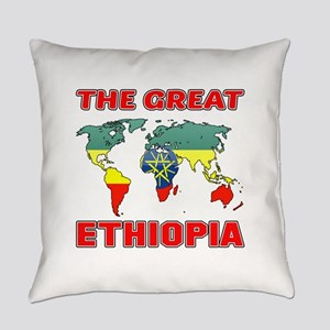 The Great Ethiopia Designs Everyday Pillow