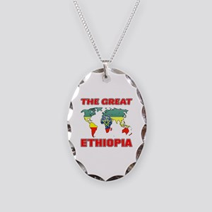 The Great Ethiopia Designs Necklace Oval Charm