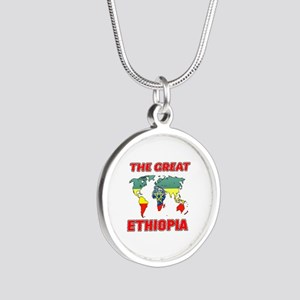 The Great Ethiopia Designs Silver Round Necklace