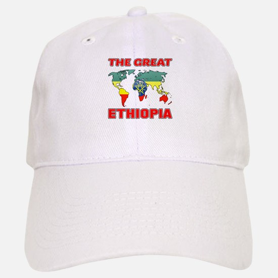 The Great Ethiopia Designs Baseball Baseball Cap