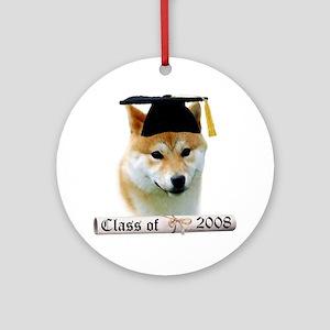 Shiba Grad 08 Ornament (Round)
