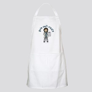 Light Optometrist BBQ Apron