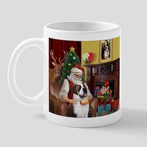 Santa's Saint Bernard Mug
