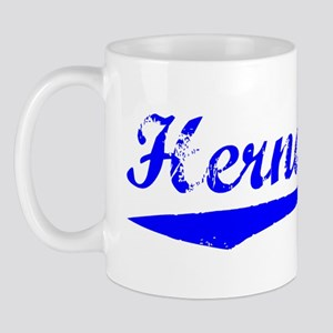Vintage Hernandez (Blue) Mug
