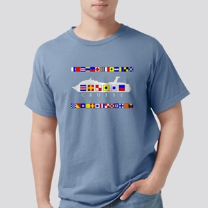 Cruise Signal Flags Women's Dark T-Shirt