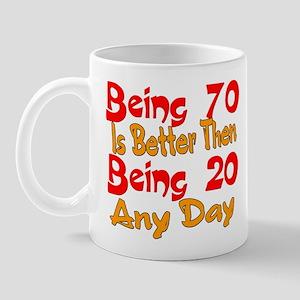 Being 80 better then 20 Mug