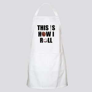 This Is How I Roll Baseball BBQ Apron