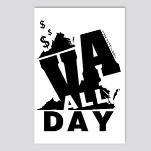 VA ALL DAY 2 Postcards (Package of 8)