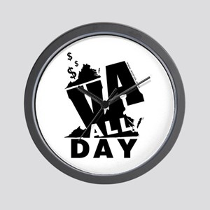 VA ALL DAY 2 Wall Clock