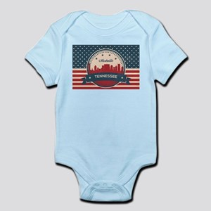 Nashville baby clothes accessories cafepress retro nashville tennessee skyline body suit negle Images