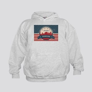 Retro Nashville Tennessee Skyline Sweatshirt
