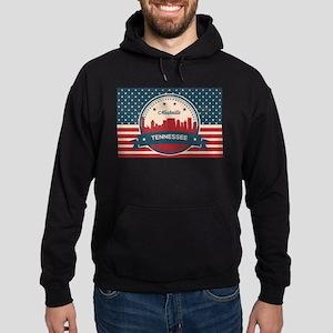 Retro Nashville Tennessee Skyline Sweatshirt