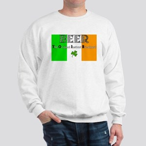 Beer: The Original Instant Br Sweatshirt
